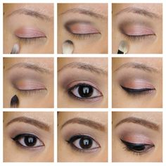 Check out this step-by-step tutorial on how to create a soft rose smoky eyes makeup using urban decay naked 3.