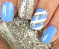 Pretty design for nails