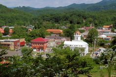 "Bryson City NC-this little jewel of a town offers so much to visitors, we've named it the ""Coolest Mountain Town"" in western North Carolina. And it's home to the Great Smoky Mountains Railroad with daily train excursions. It's just a 90-minute (70 mile) drive southwest of Asheville."