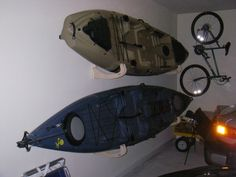Garage Kayak Storage