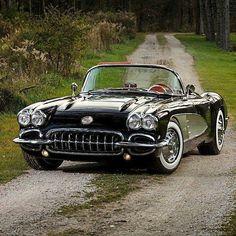 good times — corvettes: 1959 Corvette #chevroletcorvettestingray