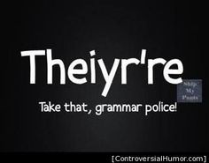 When you're not sure of your grammar....