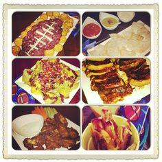 Superbowl food