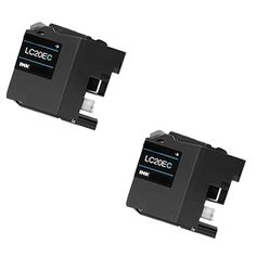 N 2 PK LC20EC XXL Compatible Ink Cartridge For Brother FCJ5920DW