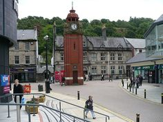 Bangor Clock Tower, Wales