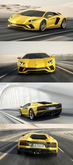 Lamborghini Aventador S Coupe Unveiled with 730 Horsepower: