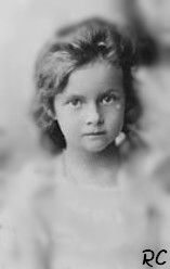 Tatiana at age 4.