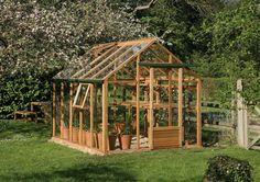 Szklarnia ogrodowa Juliana Classic 720 wymiar: 299 x 241 szkło hartowane - Dom i Ogród - sklep internetowy e-Millennium.eu