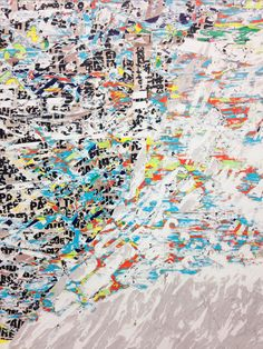 Mark Bradford http://whitecube.com/artists/mark_bradford/