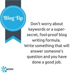 Do you want to know the secret to writing a blog that people want to read?