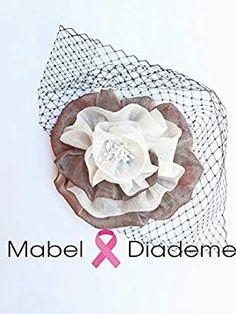 53a3ff533 Mabel Diademe Base flor bronce novia madrina invitada boda accesorio pelo evento  festival velo  Amazon