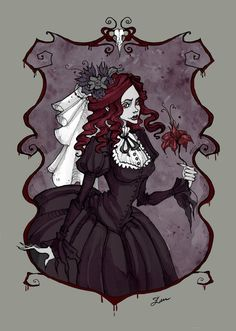 Bloody Lady by IrenHorrors on deviantART