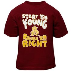 Arizona State Sun Devils Infant Start Em Young T-Shirt - Maroon ($12.95)