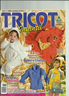 Artes com amor by Geice: Revista de tricô