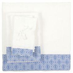 Blue Damask Towel | ZARA HOME United States of America
