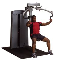 Body-Solid Pro Dual Vertical Press and Lat for DGYM with No Stack