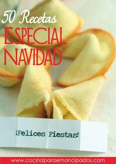 50 Recetas de Navidad  Nuevo recetario online - Especial Recetas de Navidad, por www.cocinaparaemancipados.com