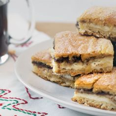 Cinnamon-Cream Cheese breakfast Bars, make-a-head, a must for Christmas morning