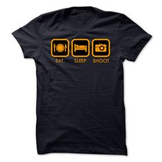 EAT SLEEP SHOOT T-Shirts, Hoodies. CHECK PRICE ==►…