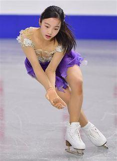 本田真凜、勝負服で大一番へ「羽ばたけるように頑張ります」/フィギュア