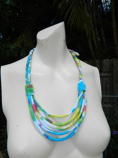 Bright tye dye summer colors neons upcycled