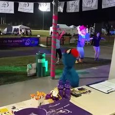 If you click into the full link, this is a short video of #Troggg dancing and having fun at #RelayForLife Sunshine Coast event.