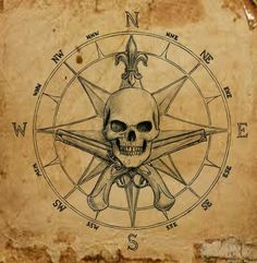 The post Pirate Compass symbol by dashinvaine on deviantART appeared first on Best Tattoos. Map Tattoos, Body Art Tattoos, Sleeve Tattoos, Pirate Compass Tattoo, Pirate Skull Tattoos, Vintage Pirate Tattoo, Compass Tattoos For Men, Pirate Themed Tattoos, Mandala Compass Tattoo