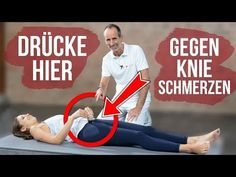 Dieser Punkt hat es in sich: Wer ihn gezielt drückt, kann unmittelbar feststell. This point has it all: Who presses him targeted, can immediately see how knee pain goes back. Fitness Workouts, Pilates Workout, Yoga Fitness, Health Fitness, Knee Pain Exercises, Massage, Ab Challenge, Sports Training, Fitness Motivation Quotes