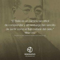 El maestro Mikao Usui nos habla y nos invita a reflexionar sobre el Reiki... http://reikinuevo.com/sentir-reiki-mikao-usui/