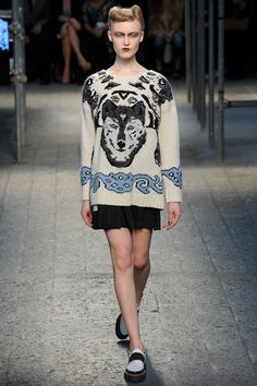 Wolf  Antonio Marras | Fall 2014 Ready-to-Wear Collection | Style.com
