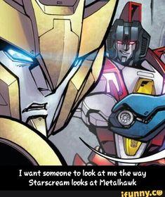 #transformers, #starscream, #Metalhawk, #comics, #plssomeonelookatmelikethat