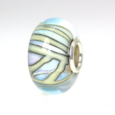 "The ""Oyster Shell"" finish on this Trollbead is spectacular! Trollbeads Gallery - Classic Unique 9523, $46.00 (http://www.trollbeadsgallery.com/classic-unique-9523/)"