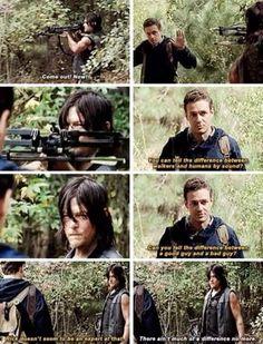 Daryl and Aaron - The Walking Dead season 5