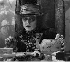 mad hatter Johnny Depp