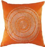 I do really like this throw pillow cover - the color is exactly as pictured on the website, and the decoration seems to be sewn well (though I try to keep it away from my cats' prying claws...).  I would simply caution a prospective buyer that it is probably a decoration-only pillow cover rather than one that you lean against on the end of your couch.  The embroidered part of the pillow is a bit rough (to be expected as it has beading).  But, as a decoration, it is wonderful!