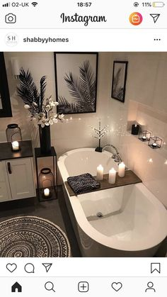 30 Adorable Contemporary Bathroom Ideas to Inspire - .- 30 entzückende zeitgenössische Badezimmer-Ideen zu inspirieren – 30 adorable contemporary bathroom ideas to … - Bathroom Goals, Bathroom Inspo, Bathroom Inspiration, Small Bathroom, Shower Bathroom, Relaxing Bathroom, Black Bathroom Decor, Bathroom Theme Ideas, Design Bathroom