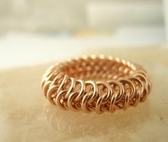 Now you have a great, flexible rings that you made yourself!