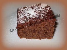 LA COCINA DE MIGUI Y FAMILIA: BIZCOCHO DE CHOCOLATE Y NUECES