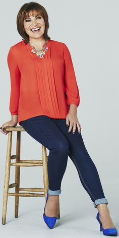 Plus Size Petites - They're not impossible to find - I've found some: http://www.boomerinas.com/2012/07/24/plus-size-petite-clothing-for-women/