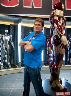 Check out David Hasselhoff at the Marvel San Diego Comic-Con Stage!