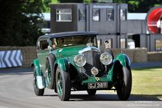 1930 Bentley Speed Six 'Blue Train Coupe'-2015 Goodwood