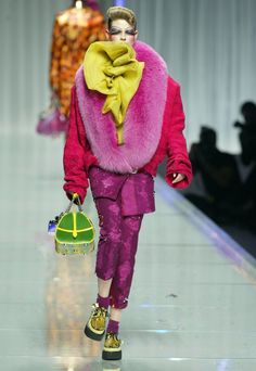 Part of the Clown series  Christian Dior Fall 2004 Ready to Wear