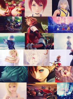 Kingdom Hearts 2 opening