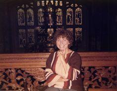 Louise Harrison at Friar Park photo by Walt Kane