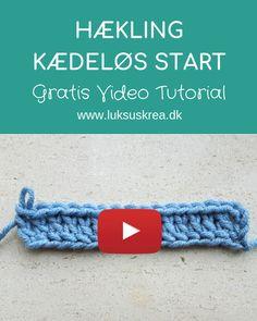 Her har du en udførlig videoguide til hvordan man hækler med kædeløs start i stangmasker. #kædeløsstart #kædeløsstartstangmasker #stangmasker #hæklingforbegyndere #hæklevideo #hæklevideoguide #crochetvideotutorial #crochetchainlessfoundation #crochetvideoguide #crochettips #crochettricks #crochetstiches Crochet Stitches, Diy And Crafts, Knitting, Tips, Crocheting, Vape Tricks, Ideas, Wood, Tejidos