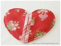 Heart Pot Holder Pattern