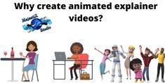 Why create animated explainer videos Business Pictures, Create Animated Gif, Create Animation, Social Media Channels, Human Resources, Marketing, Videos