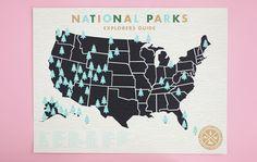mama's sauce national park map