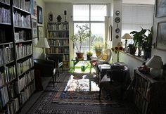 Nice sunlight and books