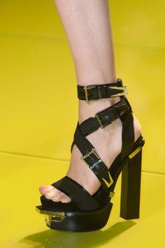 Versace at Milan Fashion Week Spring 2014 - StyleBistro